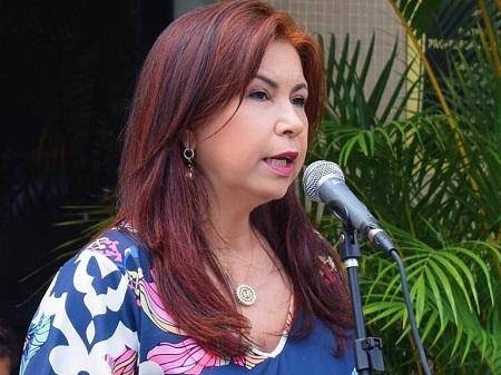 Atual vice-prefeita do município Maria Helena Coelho Pinto
